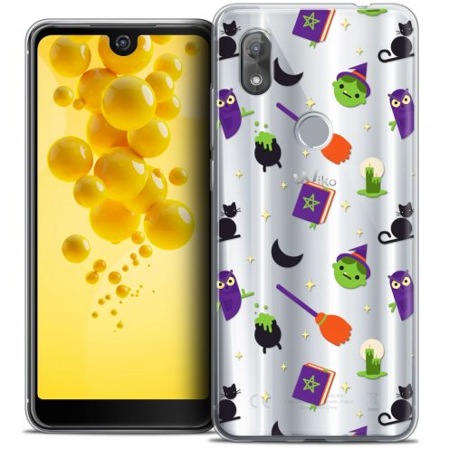 "Extra Slim Crystal Gel Wiko View 2 (6.0"") Case Halloween Witch Potter"