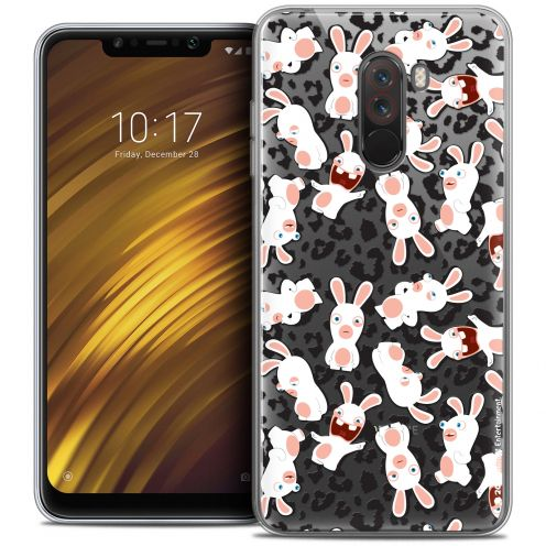 "Crystal Gel Xiaomi Pocophone F1 (6.18"") Case Lapins Crétins™ Leopard Pattern"