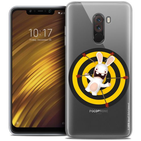 "Crystal Gel Xiaomi Pocophone F1 (6.18"") Case Lapins Crétins™ Target"