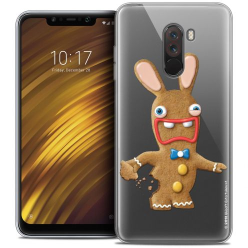"Crystal Gel Xiaomi Pocophone F1 (6.18"") Case Lapins Crétins™ Cookie"