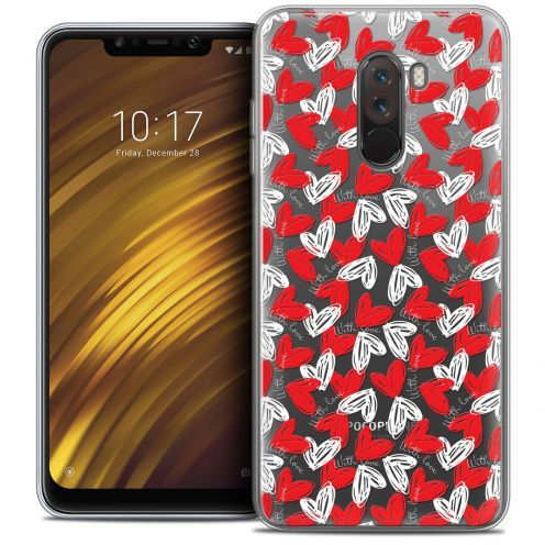 "Extra Slim Crystal Gel Xiaomi Pocophone F1 (6.18"") Case Love With Love"