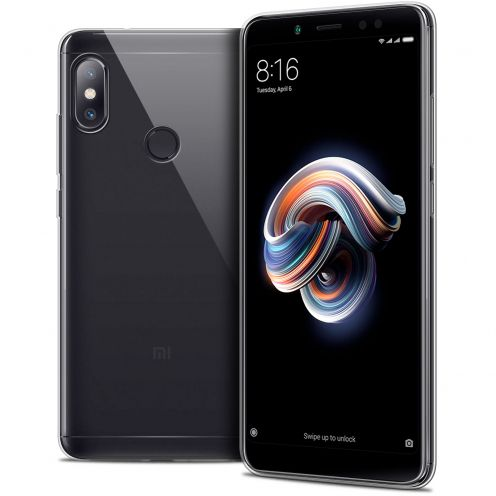"Extra Slim 1mm Crystal Clear Redmi Note 5 Flexible Case Xiaomi Redmi Note 5 (5.99"")"