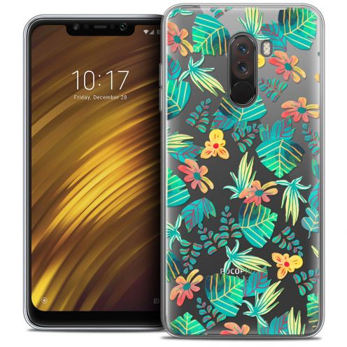 "Extra Slim Crystal Gel Xiaomi Pocophone F1 (6.18"") Case Spring Tropical"