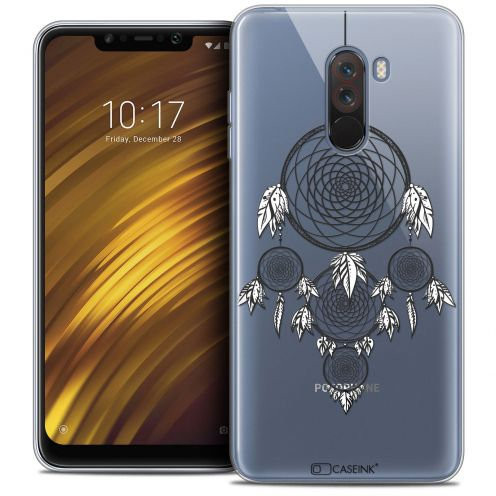"Extra Slim Crystal Gel Xiaomi Pocophone F1 (6.18"") Case Dreamy Attrape Rêves NB"