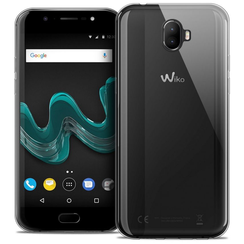 """Extra Slim 1mm Crystal Clear View Flexible Case Wiko Wim (5.5"""")"""