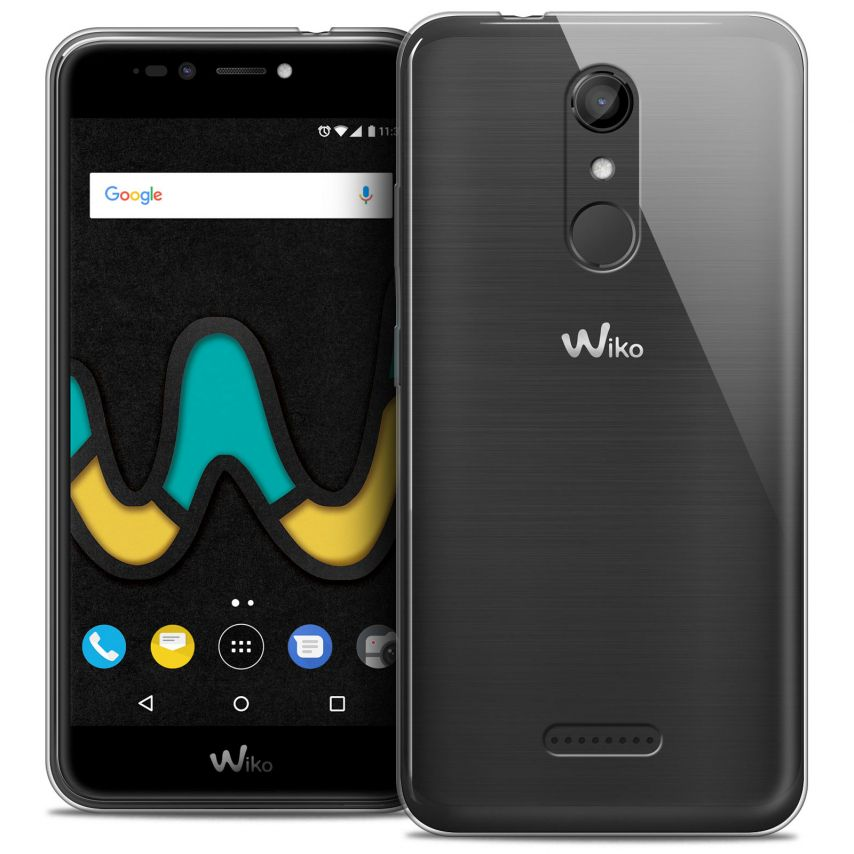 """Extra Slim 1mm Crystal Clear View Flexible Case Wiko U Pulse LITE (5.2"""")"""