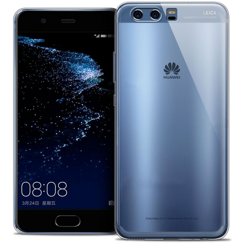 Extra Slim 1mm Crystal Clear View Flexible Case Huawei P10