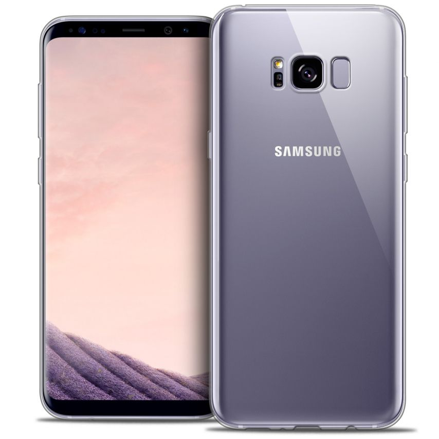 Extra Slim 1mm Crystal Clear View Flexible Case Samsung Galaxy S8
