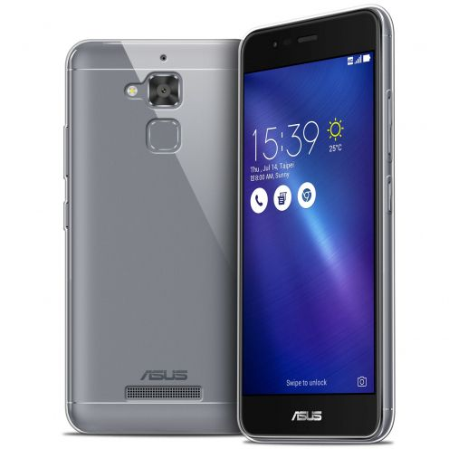 Extra Slim 1mm Crystal Clear View Flexible Case Asus Zenfone 3 Max ZC520TL 5.2""
