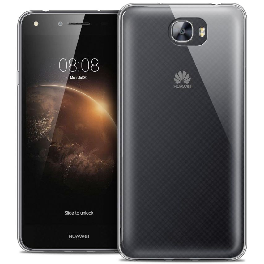 Extra Slim 1mm Crystal Clear View Flexible Case Huawei Y6II Compact