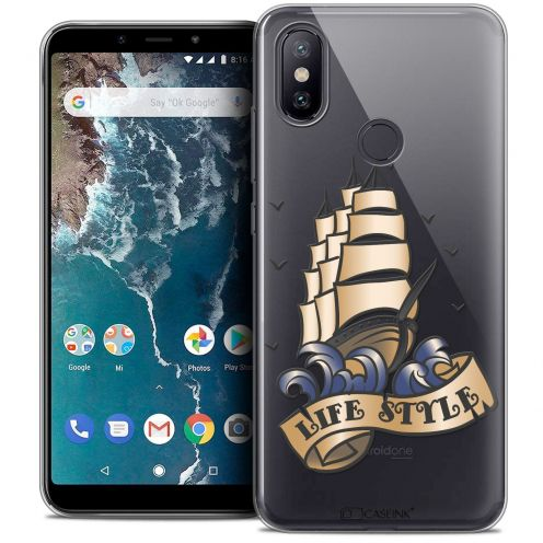 "Extra Slim Crystal Gel Xiaomi Mi A2 (5.99"") Case Tatoo Lover Life Style"