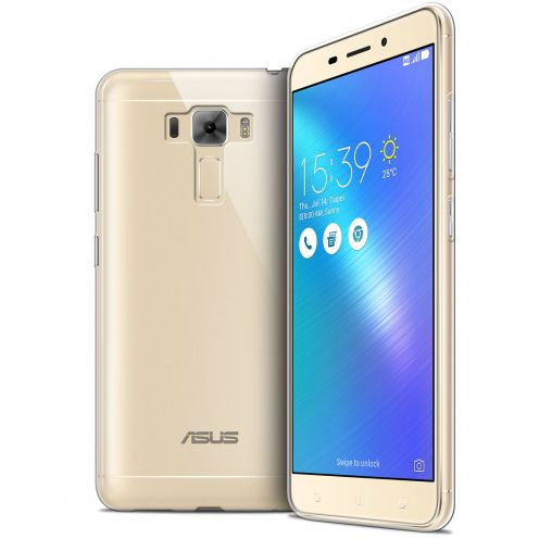 Extra Slim 1mm Crystal Clear View Flexible Case Asus Zenfone 3 Laser ZC551KL 5.5""