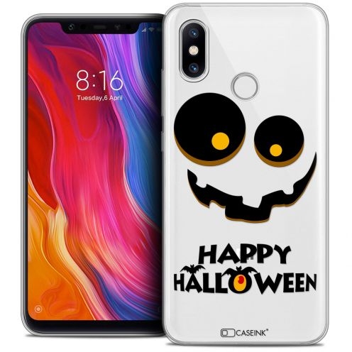 "Extra Slim Crystal Gel Xiaomi Mi 8 (6.21"") Case Halloween Happy"