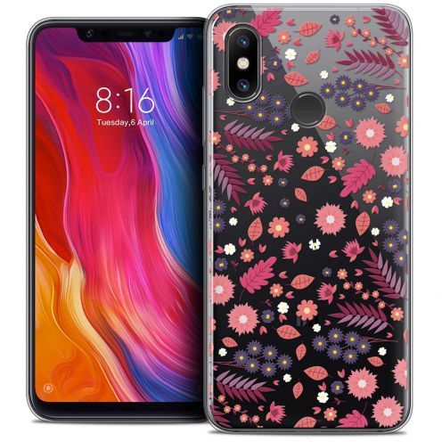 "Extra Slim Crystal Gel Xiaomi Mi 8 (6.21"") Case Spring Printemps"