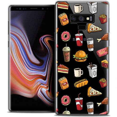 "Extra Slim Crystal Gel Samsung Galaxy Note 9 (6.4"") Case Foodie Fast Food"