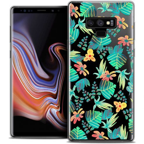 "Extra Slim Crystal Gel Samsung Galaxy Note 9 (6.4"") Case Spring Tropical"