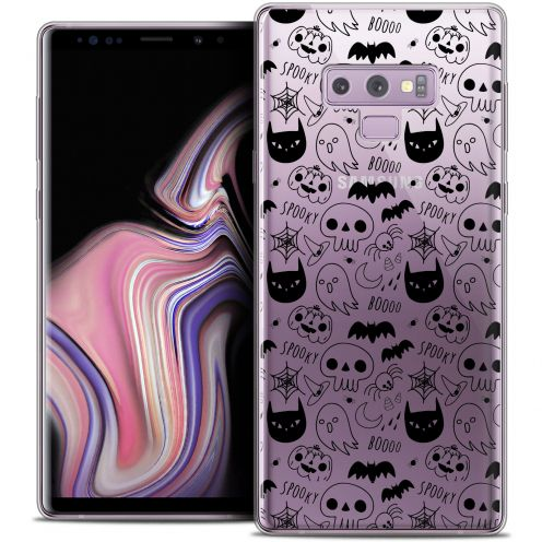 "Extra Slim Crystal Gel Samsung Galaxy Note 9 (6.4"") Case Halloween Spooky"