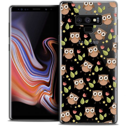 "Extra Slim Crystal Gel Samsung Galaxy Note 9 (6.4"") Case Summer Hibou"