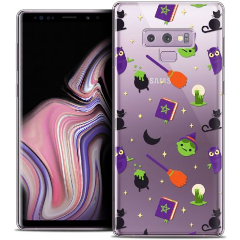 """Extra Slim Crystal Gel Samsung Galaxy Note 9 (6.4"""") Case Halloween Witch Potter"""