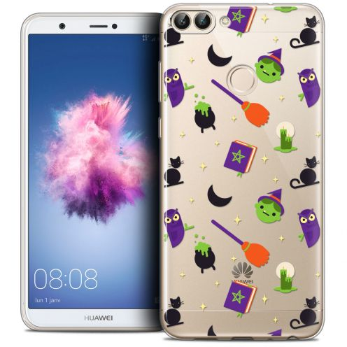 """Extra Slim Crystal Gel Huawei P Smart (5.7"""") Case Halloween Witch Potter"""