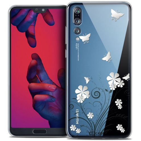 """Extra Slim Crystal Gel Huawei P20 PRO (6.1"""") Case Summer Papillons"""