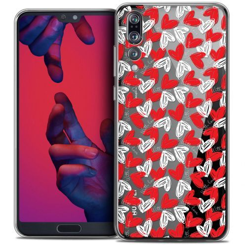 "Extra Slim Crystal Gel Huawei P20 PRO (6.1"") Case Love With Love"