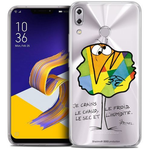 """Extra Slim Crystal Gel Asus Zenfone 5z ZS620KL (6.2"""") Case Les Shadoks® Chaud ou Froid"""