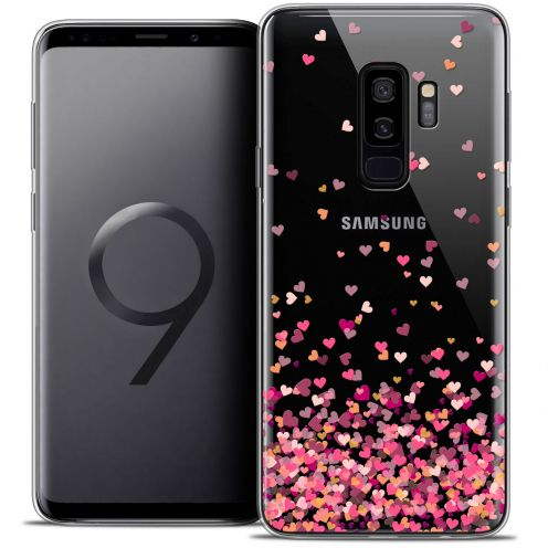 "Extra Slim Crystal Gel Samsung Galaxy S9+ (6.2"") Case Sweetie Heart Flakes"