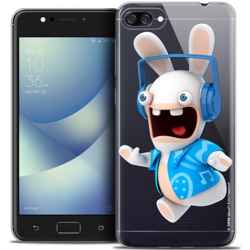 """Crystal Gel Asus Zenfone 4 MAX ZC520KL (5.2"""") Case Lapins Crétins™ Techno Lapin"""