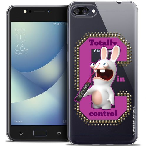 """Crystal Gel Asus Zenfone 4 MAX ZC520KL (5.2"""") Case Lapins Crétins™ In Control !"""