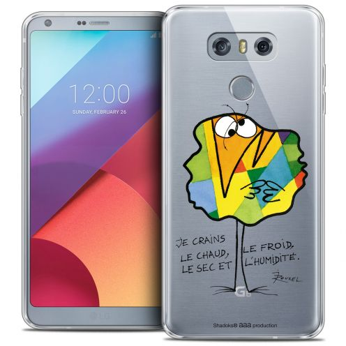 Extra Slim Crystal Gel LG G6 Case Les Shadoks® Chaud ou Froid