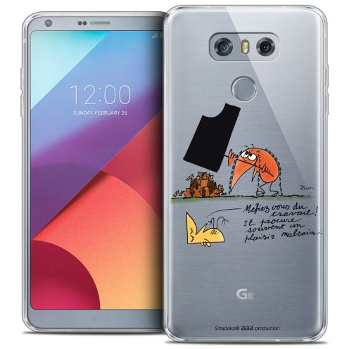 Extra Slim Crystal Gel LG G6 Case Les Shadoks® Le Travail