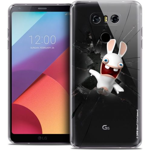 Crystal Gel LG G6 Case Lapins Crétins™ Breaking Glass