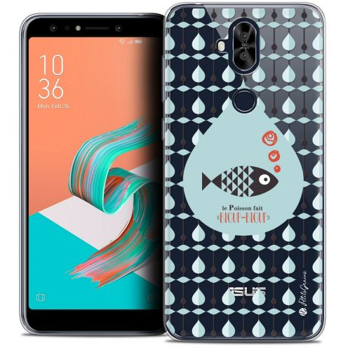 "Extra Slim Crystal Gel Asus Zenfone 5 LITE ZC600KL (6.0"") Case Petits Grains® Le Poisson"