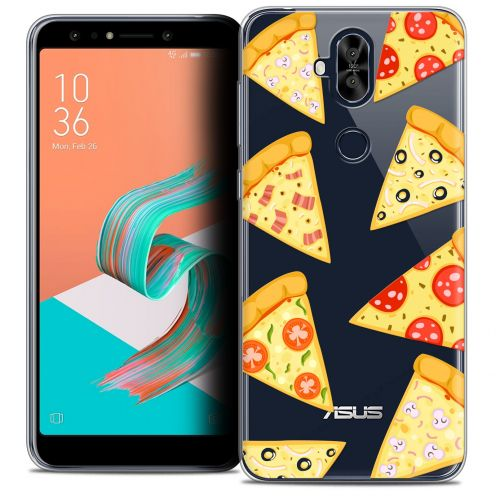 "Extra Slim Crystal Gel Asus Zenfone 5 LITE ZC600KL (6.0"") Case Foodie Pizza"