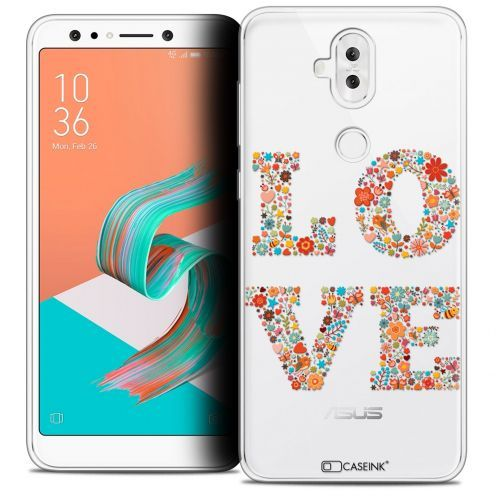 "Extra Slim Crystal Gel Asus Zenfone 5 LITE ZC600KL (6.0"") Case Summer Love Flowers"