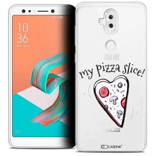 "Extra Slim Crystal Gel Asus Zenfone 5 LITE ZC600KL (6.0"") Case Love My Pizza Slice"