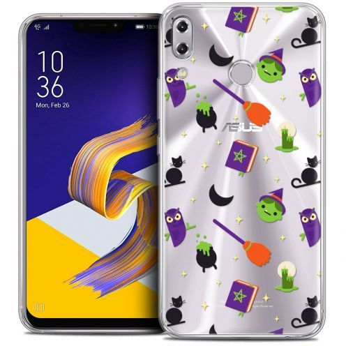 "Extra Slim Crystal Gel Asus Zenfone 5z ZS620KL (6.2"") Case Halloween Witch Potter"