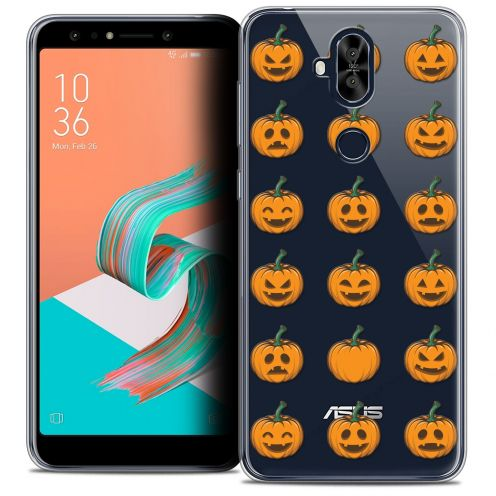 "Extra Slim Crystal Gel Asus Zenfone 5 LITE ZC600KL (6.0"") Case Halloween Smiley Citrouille"