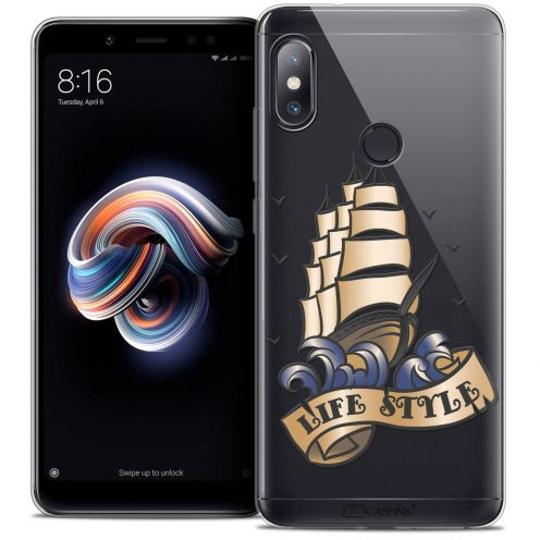 "Extra Slim Crystal Gel Xiaomi Redmi Note 5 (5.99"") Case Tatoo Lover Life Style"