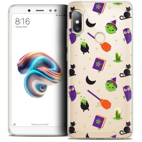 "Extra Slim Crystal Gel Xiaomi Redmi Note 5 (5.99"") Case Halloween Witch Potter"