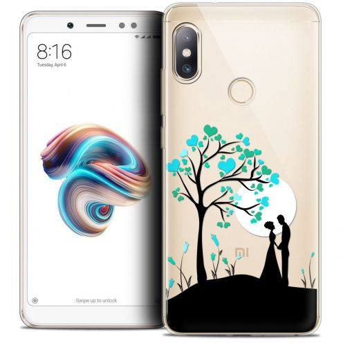 "Extra Slim Crystal Gel Xiaomi Redmi Note 5 (5.99"") Case Love Sous l'arbre"