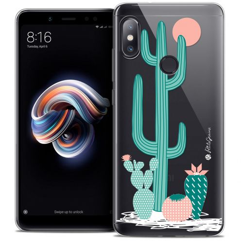 "Extra Slim Crystal Gel Xiaomi Redmi Note 5 (5.99"") Case Petits Grains® A l'Ombre des Cactus"