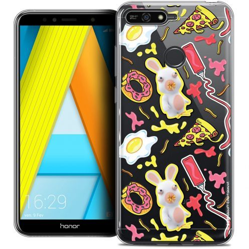 """Crystal Gel Honor 7A (5.7"""") Case Lapins Crétins™ Egg Pattern"""