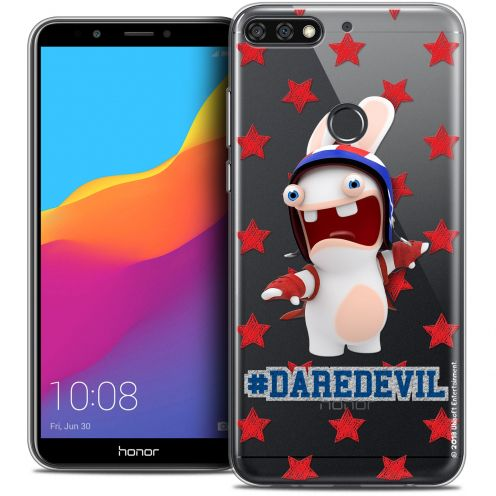 "Crystal Gel Honor 7C (5.99"") Case Lapins Crétins™ Dare Devil"