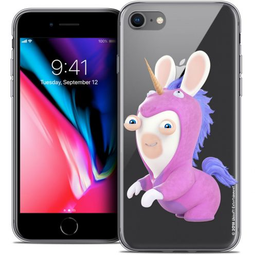 "Crystal Gel Apple iPhone 7 (4.7"") Case Lapins Crétins™ Licorne"