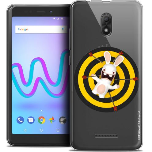 """Crystal Gel Wiko Jerry 3 (5.45"""") Case Lapins Crétins™ Target"""