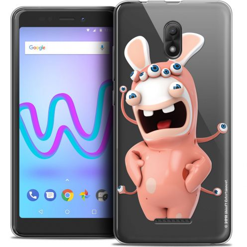 """Crystal Gel Wiko Jerry 3 (5.45"""") Case Lapins Crétins™ Extraterrestre"""