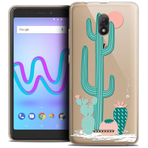 "Extra Slim Crystal Gel Wiko Jerry 3 (5.45"") Case Petits Grains® A l'Ombre des Cactus"