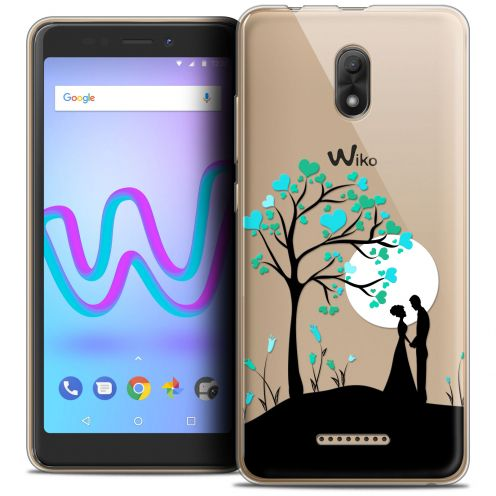 "Extra Slim Crystal Gel Wiko Jerry 3 (5.45"") Case Love Sous l'arbre"